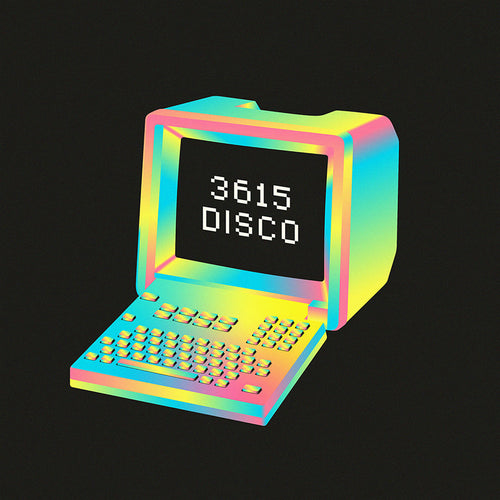 3615 Disco 2LP front cover