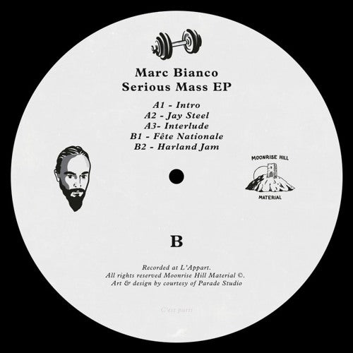 Marc Bianco - Serious Mass EP - MHM009 front cover