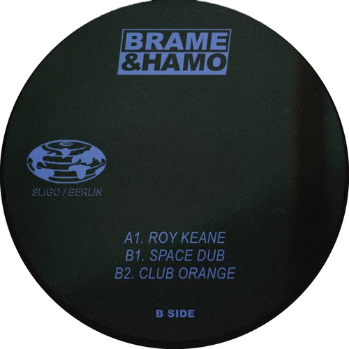 Brame & Hamo - Club Orange EP front cover