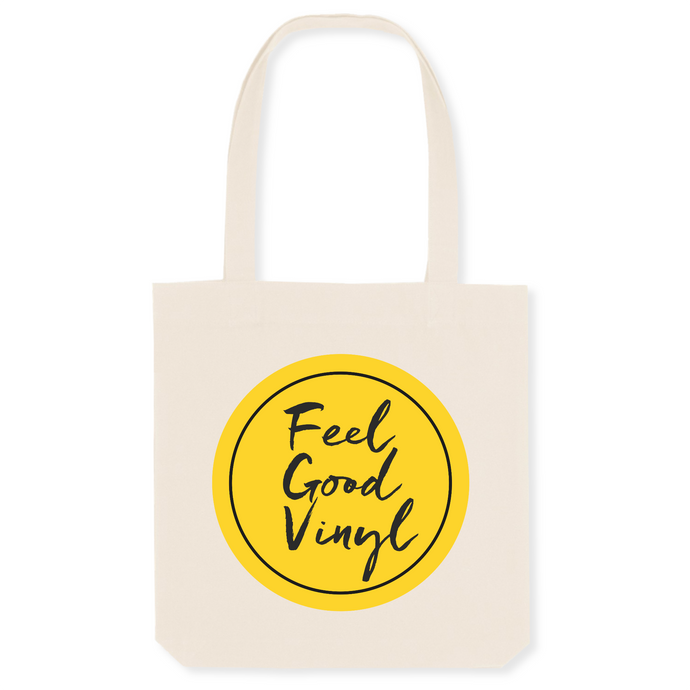 Tote Bag Bio Unisexe Feel Good Vinyl