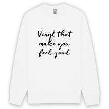 Sweatshirt Unisexe Biologique Feel Good Vinyl