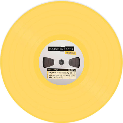 Lay-Far The Trinity EP yellow vinyl