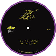 Ed Wizard & Disco Double Dee, Hotmood EP back label