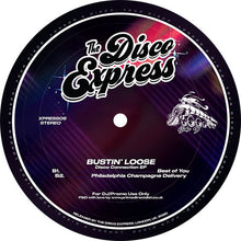 Bustin' Loose - Disco Connection EP  (XPRESS05) back label