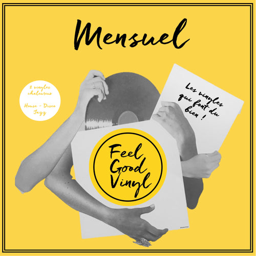 Packaging Feel Good Vinyl - Feel Good Sélection #7 Plan Mensuel