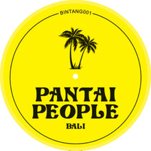Pantail People EP back label