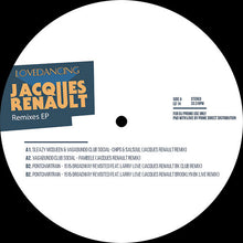 Various - Jacques Renault Remixes back cover