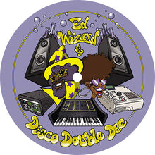 Ed Wizard & Disco Double Dee - Loft Party EP ED030 back label