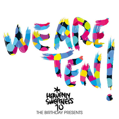 Various - We Are Ten! LP front cover
