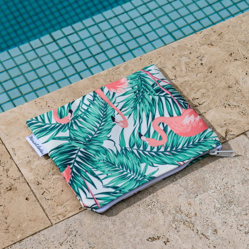 Flamin' Flamingo Bikini Bag