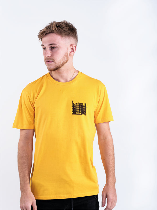 LUMINOUS DRIP T-SHIRT - ORANGE - We Are Luminous London.