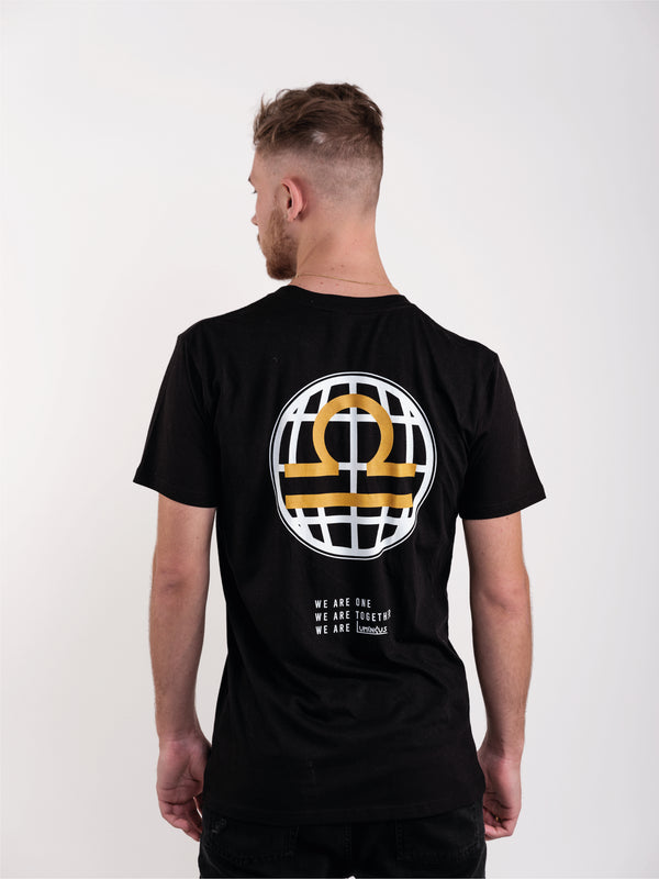 WE ARE LUMINOUS T-SHIRT - BLACK - We Are Luminous London