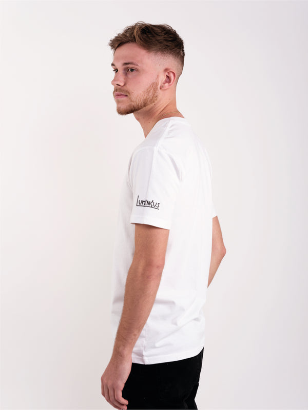 MOON SIGN T-SHIRT - WHITE - We Are Luminous London