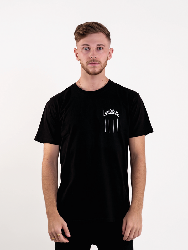 NOTHING SHALL BE IMPOSSIBLE T-SHIRT - BLACK - We Are Luminous London.