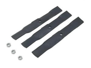 54-inch Mulching Mower Blade Kit for 100, D100, G100 and LA100 Series GY20686