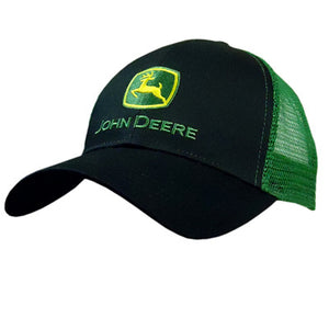Mens Classic Two Tone Black/Green Cap