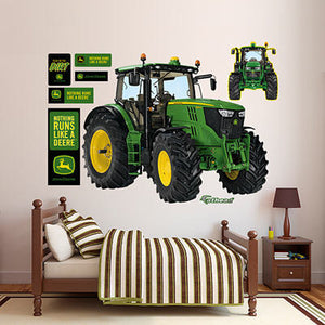6210R Tractor Wall Graphic