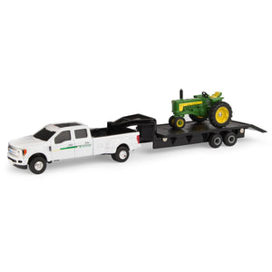 1/64 530 with F350 and Trailer Set