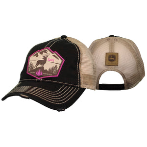 Womens Black Feeling Country Cap