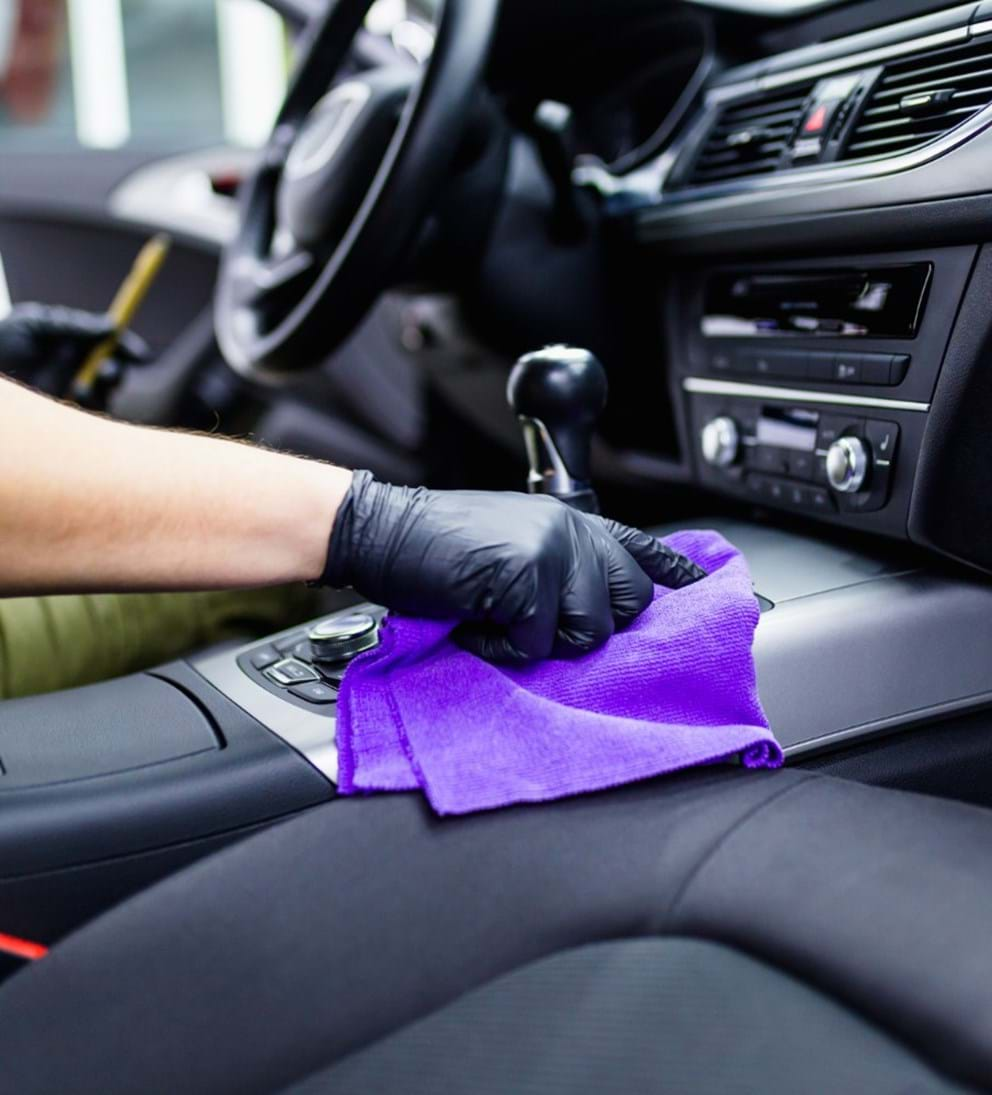 interior detailing products & steps