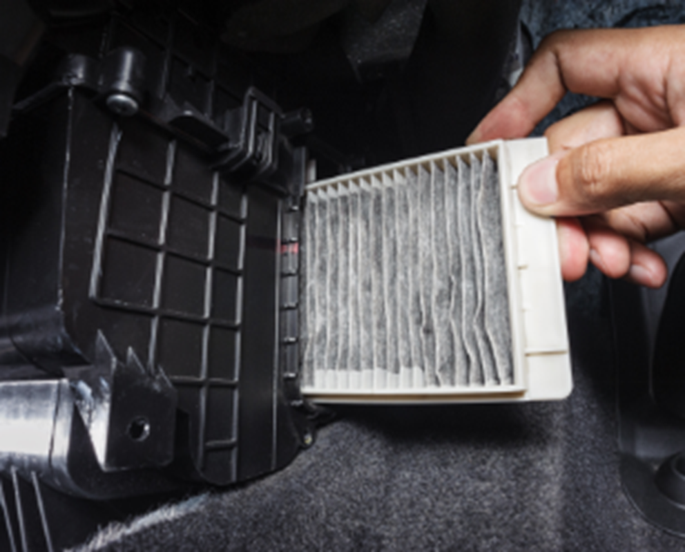 car filter may need to be replaced