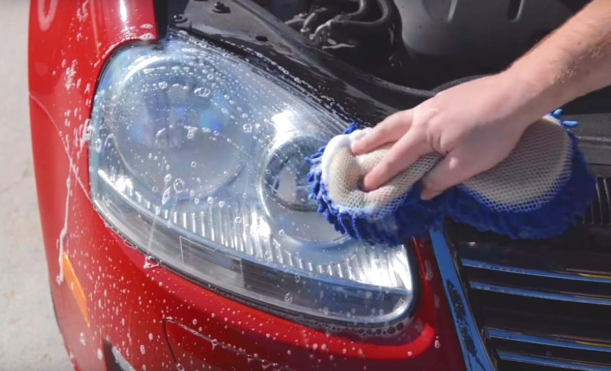 clean/restore headlights - preparing headligh