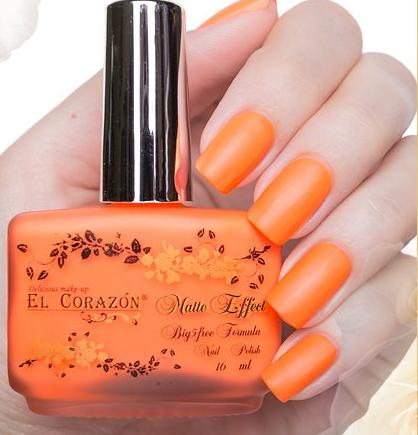 "El Corazon Nail Polish ""Matte Effect Neon"" №142 16 ml"