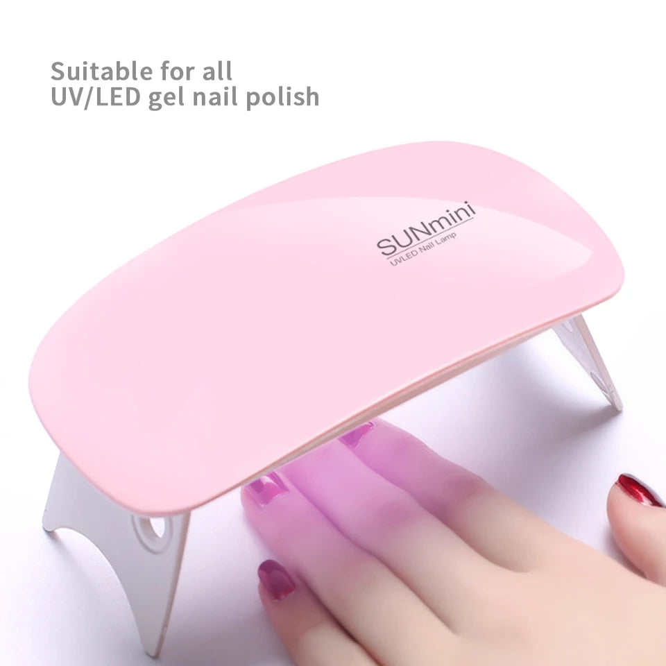 6 Watts Mini USB Portable Nail Lamp