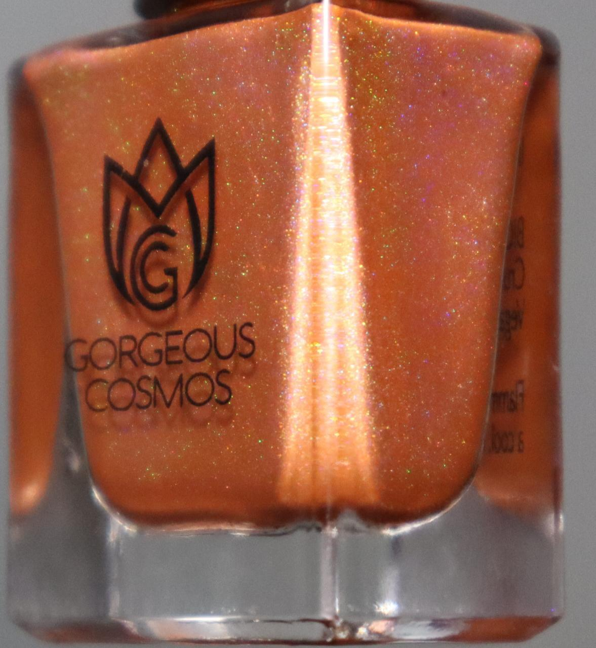 G.C. Rainbow Shooters Orange Holographic Nail Polish - I Love My Polish
