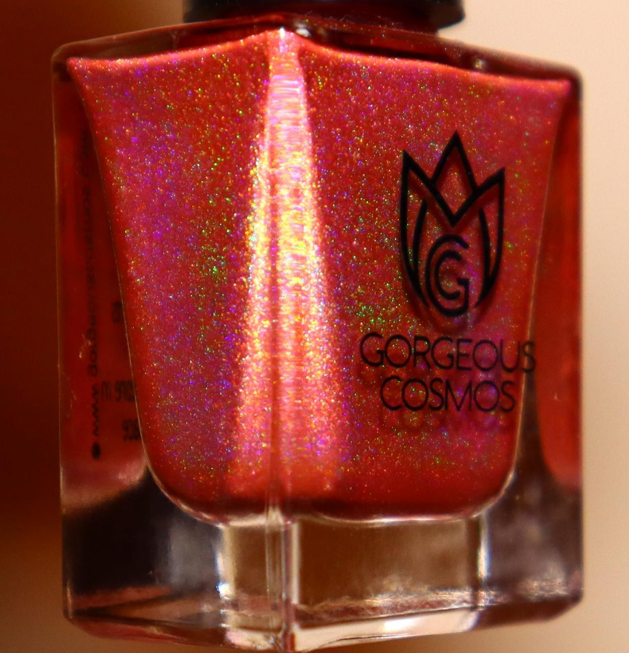G.C. Roseate Red Holographic Nail Polish - I Love My Polish