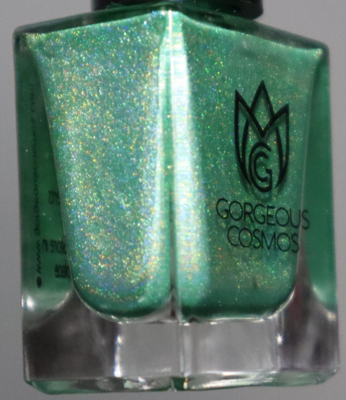 G.C. Monsoon Foliage Green Holographic Nail Polish - I Love My Polish