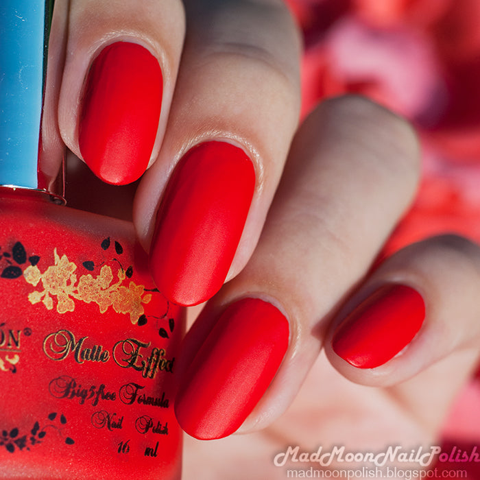 "El Corazon Nail Polish ""Matte Effect"" №126 16 ml"