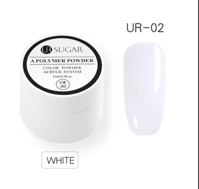UR SUGAR A polymer powder 15ml White UR-02