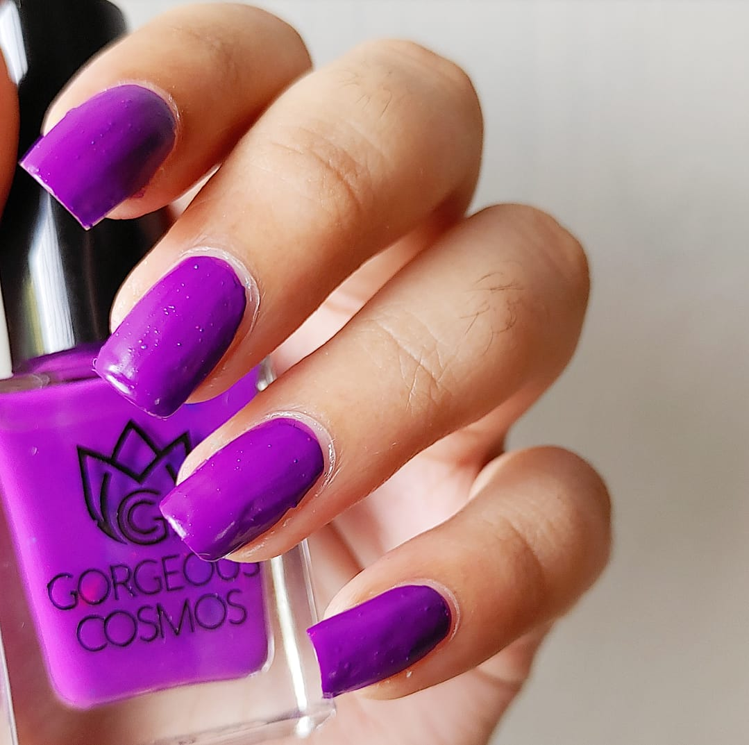 G.C. Ultra-Violet Neon Purple Nail Polish - I Love My Polish
