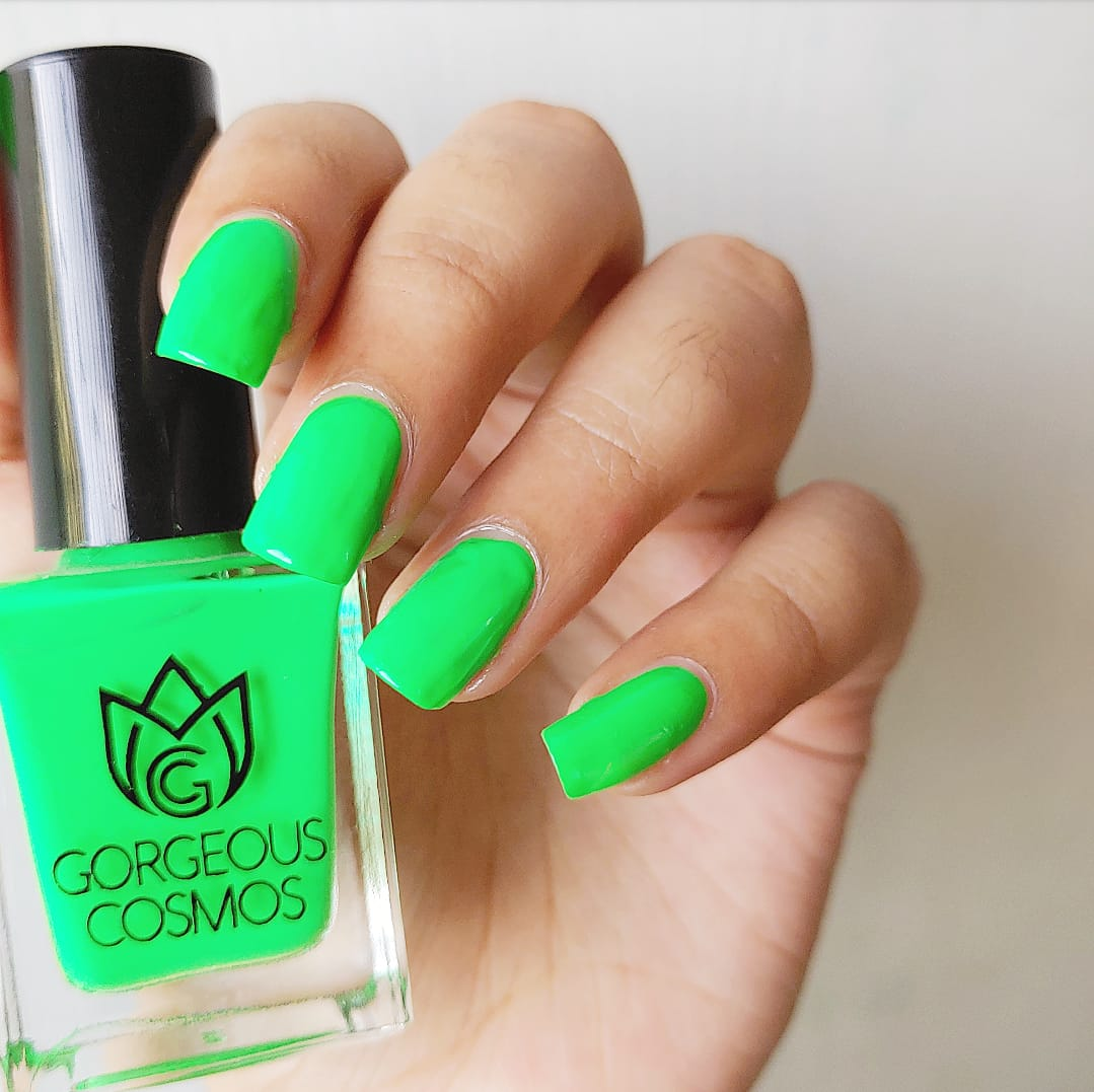 G.C. Nature is Healing Neon Green Nail Polish - I Love My Polish