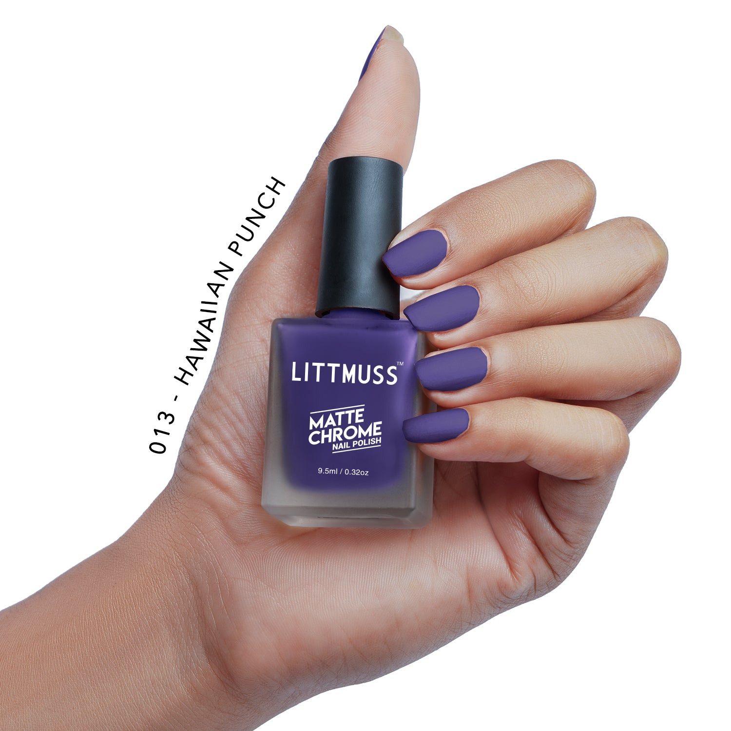 LITTMUSS Matte Chrome Nail Polish Hawaiian Punch -013