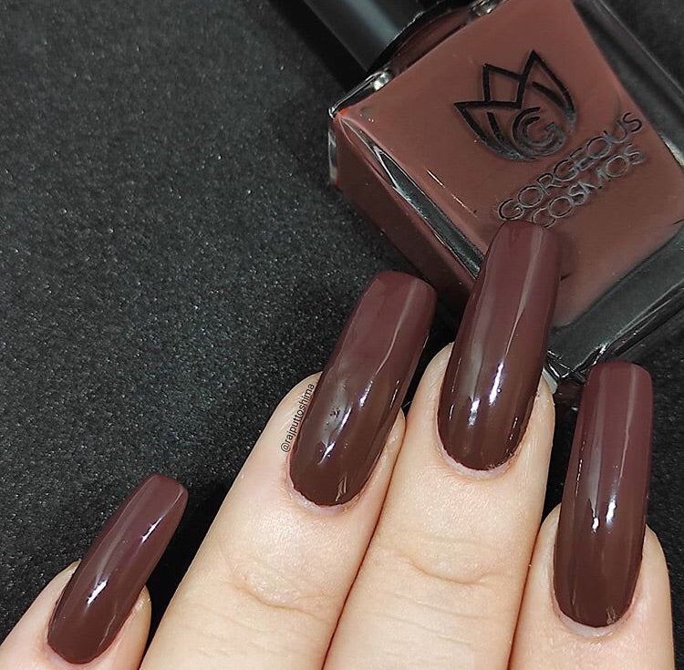G.C.  Carob Chocolate Brown Nail Polish