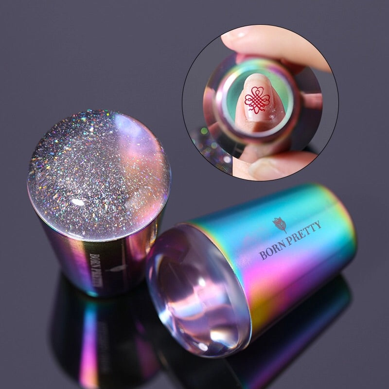 Born Pretty Holographic Clear Jelly Stamper