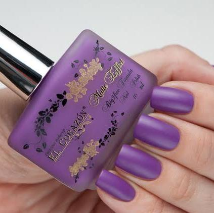"El Corazon Nail Polish ""Matte Effect"" №120 16 ml"