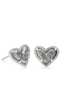 Load image into Gallery viewer, Kendra Scott Ari Heart Stud Earrings