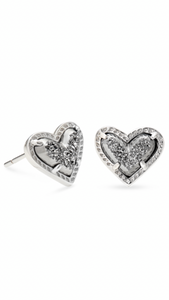 Kendra Scott Ari Heart Stud Earrings