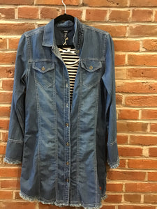 Shirt Dress Denim
