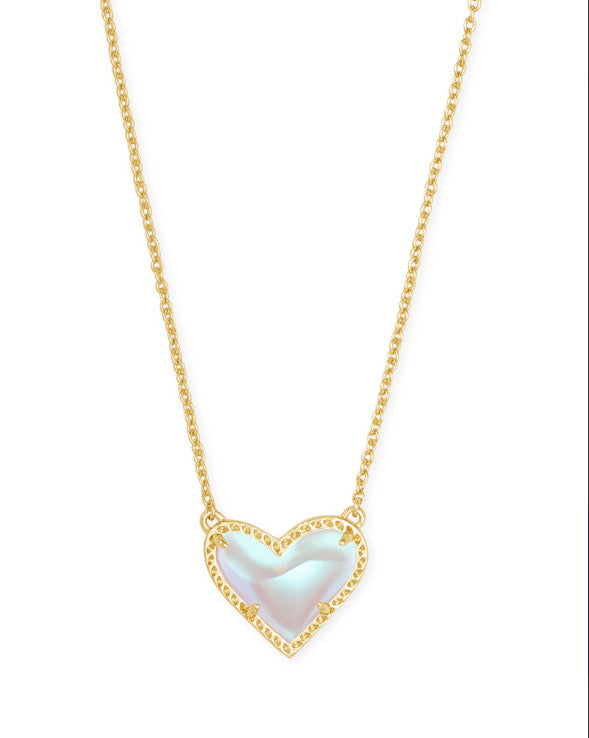 Kendra Scott Arie Gold Dichroic Pendant Necklace