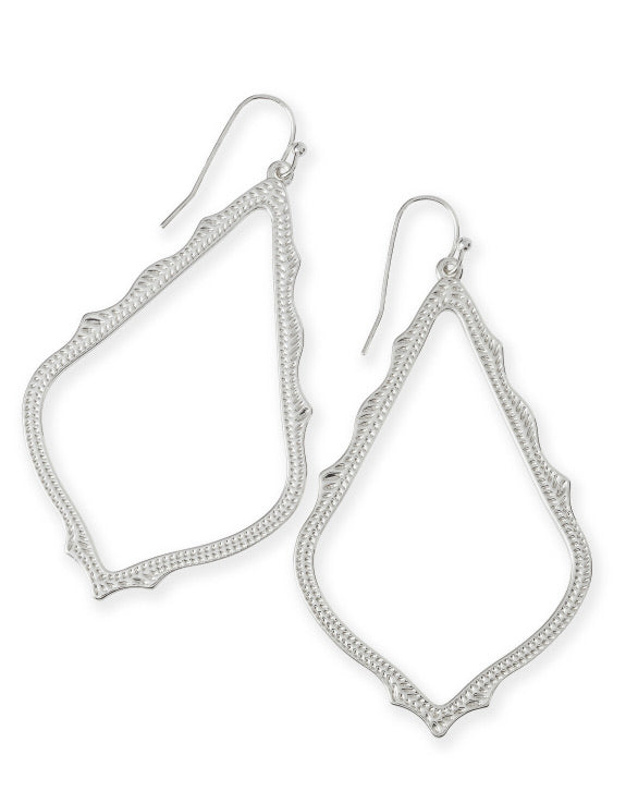 Kendra Scott Silver Sophee Drop Earrings