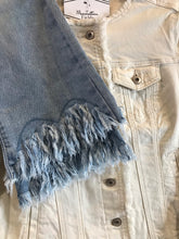 Load image into Gallery viewer, Charlie B Fringe Stretch Denim