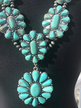 Load image into Gallery viewer, Turquoise Natural Stone Necklace