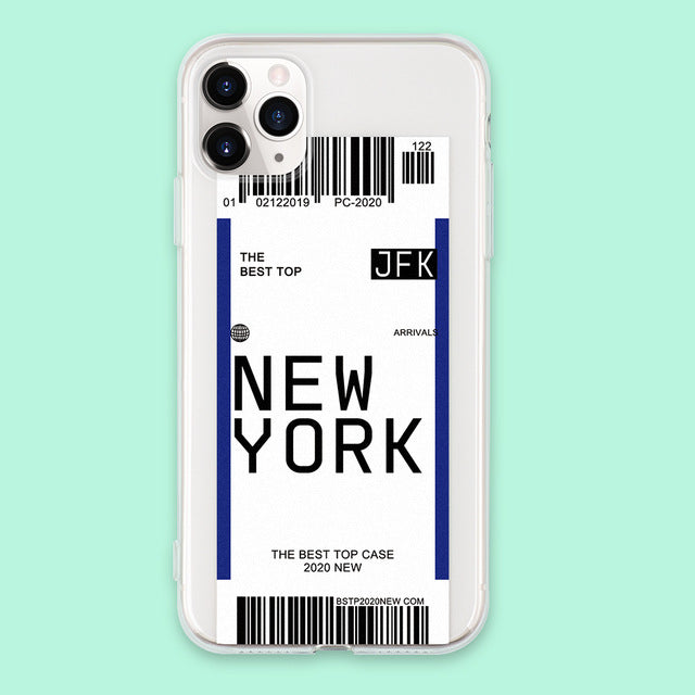 iphone case travel New york