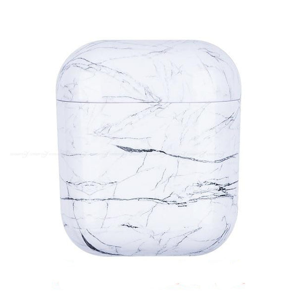 White marble case Airpods