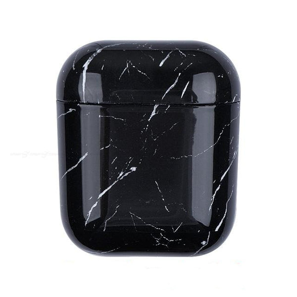 Black Marble case Airpod