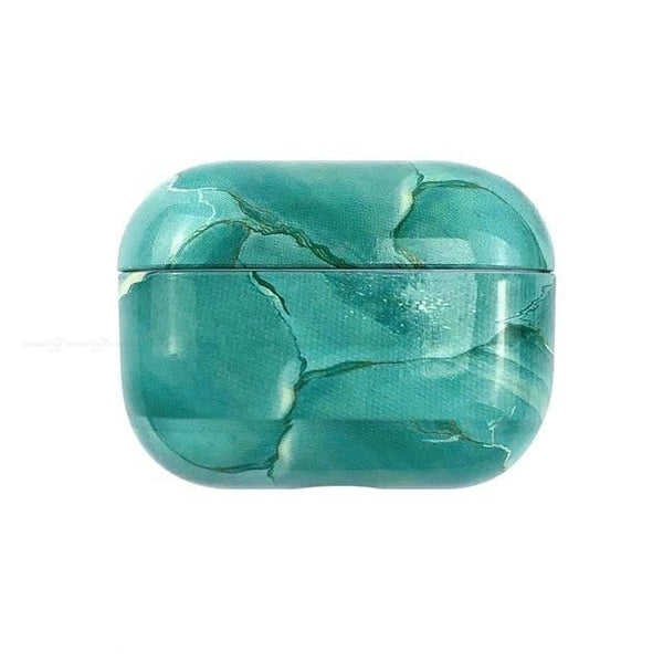 Turquoise marble case airpods pro